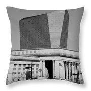 Philadelphia 1 Throw Pillow