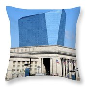 Philadelphia 2 Throw Pillow