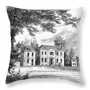 Philadelphia: Mansion Throw Pillow