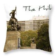 Philadelphian View From Museum Throw Pillow