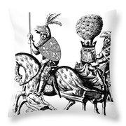 Philip II & Richard I Throw Pillow