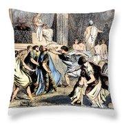 Philip II (382-336 B.c.) Throw Pillow