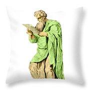 Philippos Of Acarnania, Physician Throw Pillow