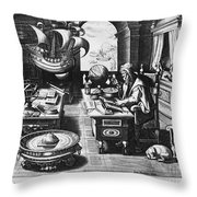 Philosopher, C1580 Throw Pillow