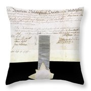 Philosophical Society Throw Pillow