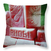 Phobia Throw Pillow