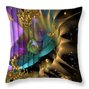 Phool's Gold Throw Pillow