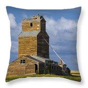 Photograph Of A  Prairie Barn Throw Pillow