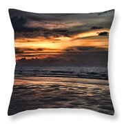 Photographing Sunsets Throw Pillow