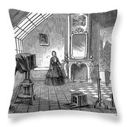 Photography, 1876 Throw Pillow by Granger