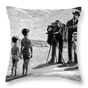 Photography, 1877 Throw Pillow