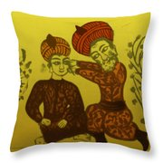 Physician Performing Cataract Operation Throw Pillow