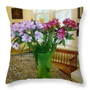 Piano Arrangement Throw Pillow