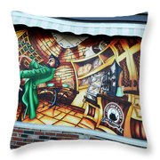 Piano Man 3 Throw Pillow