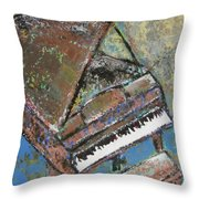 Piano Study 5 Throw Pillow