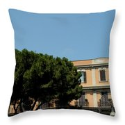 Piazza Cavour Throw Pillow
