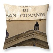 Piazza Throw Pillow