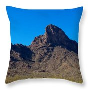 Picacho Peak - Arizona Throw Pillow