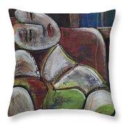 Picasso Dream For Luna Throw Pillow