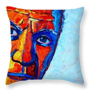 Picasso's Look Throw Pillow