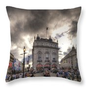Piccadilly Panorama Throw Pillow