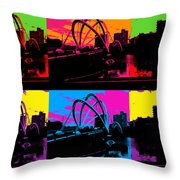 Pick Your Color Throw Pillow