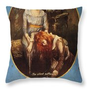 Pickford: Film Poster, 1917 Throw Pillow