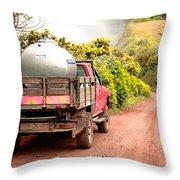 Pickup Truck Throw Pillow