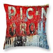 Picnic Ground Throw Pillow