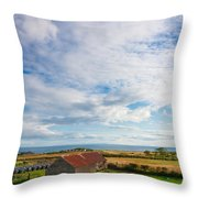 Picturesque Barn Throw Pillow