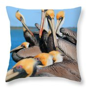 Pier Party Throw Pillow