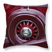 Pierce Arrow Fender Throw Pillow