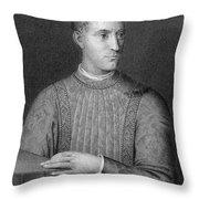 Piero De Medici (1414-1469) Throw Pillow