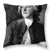 Pierre-augustin Caron De Beaumarchais Throw Pillow