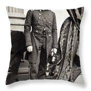 Pierre G.t. De Beauregard Throw Pillow