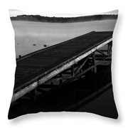 Piers Of Pleasure  Throw Pillow