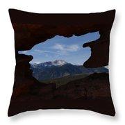 Pikes Peak 2012 Throw Pillow