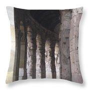 Pilars In Rome Throw Pillow