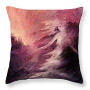 Pillar Of Salt Throw Pillow