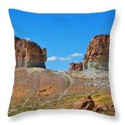 Pilot Butte Rock Formation Iv Throw Pillow