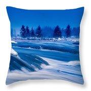 Pinawa Channel, Manitoba Throw Pillow