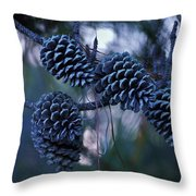 Pine Cones Throw Pillow