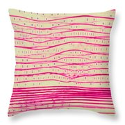 Pine Pits And Stem Throw Pillow