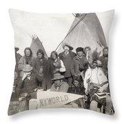 Pine Ridge Reservation Throw Pillow
