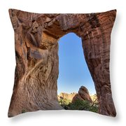 Pine Tree Arch - D004090 Throw Pillow