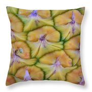 Pineapple Eyes Throw Pillow