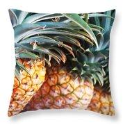 Pineapples Anyone Throw Pillow