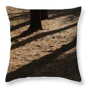 Pines Of Msu Throw Pillow