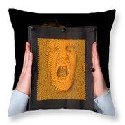 Pinhead Throw Pillow