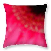 Pink Center Throw Pillow